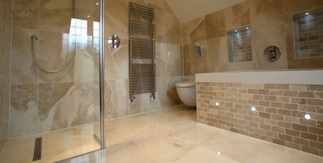 project for wet rooms in hyde
